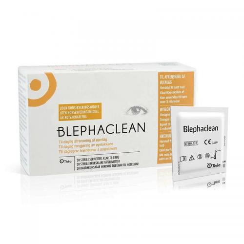 Blephaclean våtservietter mot tørre øyne og MGD